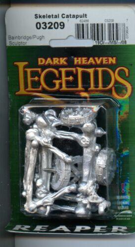 Reaper Dark Heaven Legends Skeletal Catapult MINT #03209 Metal