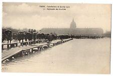 CPA 75 - PARIS - Inondations de Janvier 1910 - 9. Esplanade des Invalides
