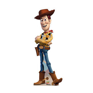 WOODY THE COWBOY Toy Story Bigger Than Lifesize CARDBOARD CUTOUT Standup Standee
