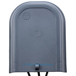 outdoor junction box tv aerial telephone cable splitter cover virgin