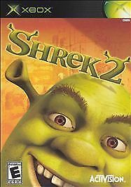 Shrek-2-Microsoft-Xbox-2004-COMPLETE-FAST-SHIPPING-ACTIVISION