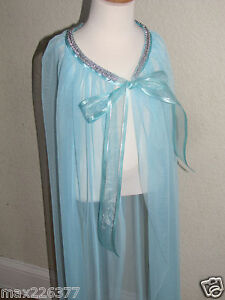 NEW-GIRL-Elsa-Inspired-cape-frozen-Princess-size-2-16-years-30-034-to-50-034-long