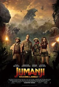 Option 1 Jumanji Welcome to the Jungle Posters A3 /& A4