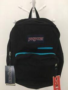 09415c67fa3a Details about New Jansport DIGIBREAK Superbreak Student Backpack Laptop  Tablet Sleeve Black