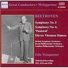 Ludwig van Beethoven - Beethoven: Symphony No. 5; Symphony No. 6; Eleven Viennese Dances (2003)