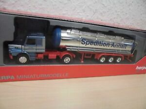 Herpa-Scania-Hauber-Chromtank-Sattelzug-034-Spedition-Anhalt-034-1-87