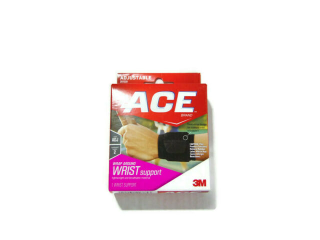 ACE Adjustable Wrap Around Wrist Support Level 2 Black 207220 NEW