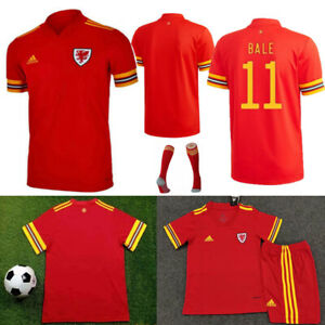 19-20 Kids Football Full Kit Youth 3-14Y Jersey Strips Sports Suit Soccer Outfit