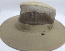 826669678b363 Dorfman Pacific Men s DPC Mesh Solarweave SPF 4-CAML Boonie Hat