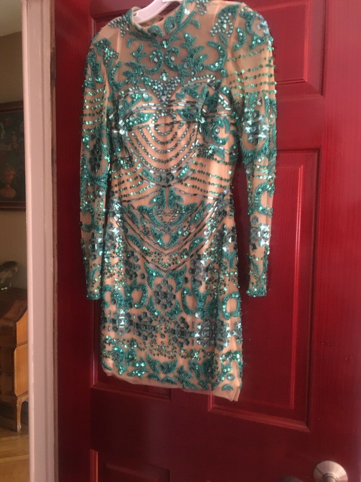 Jovani Short dress size 2 Green Pre-owned Pre-owned Pre-owned fb44ea