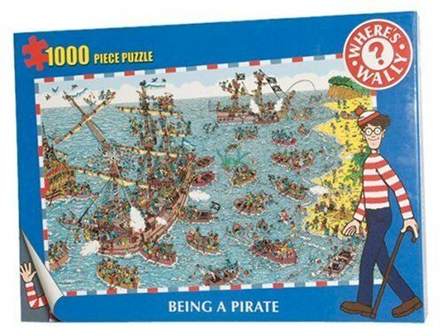 "WHERE's WALLY ""BEING A PIRATE"" 1000 Piece Jigsaw Puzzle"