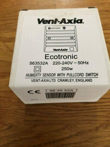 VENT Axia Ecotronic Sensore di Umidità 563532A 220-240V-50Hz 250W