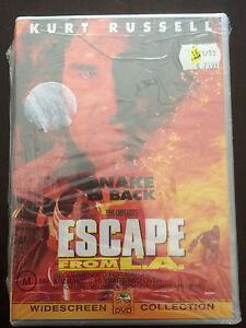 034-Escape-From-L-A-034-PAL-Region-4-Kurt-Russell-NEW-amp-SEALED