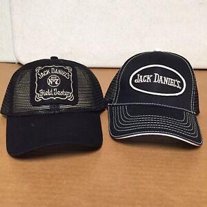 26cdc6e09b06d Vintage Look Lot Of 2 Jack Daniels Full Mesh Trucker Hat Cap ...