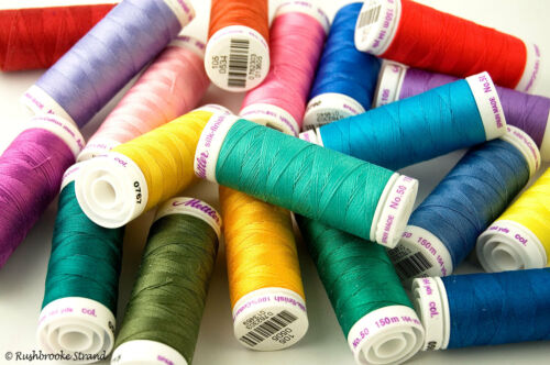 Page 3 Mettler Silk Finish Cotton All Purpose Thread 50 wt 3 ply 164 yard