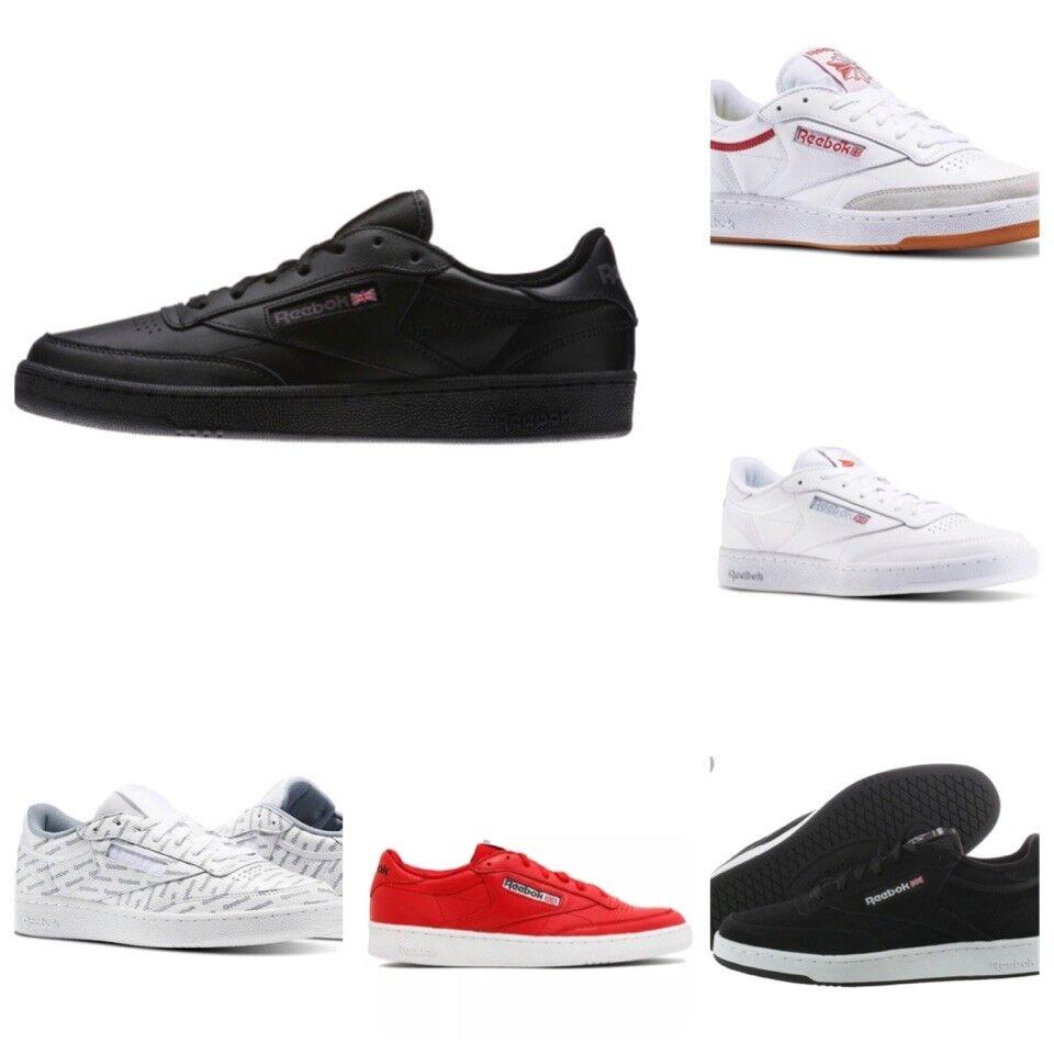 Reebok Club C Classic Men's Sneakers. 100% Authentic. Originals Old School.