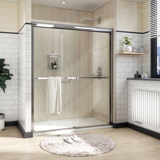Chrome Sliding Shower Door Towel Bar Bracket