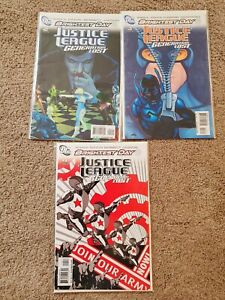 Justice-League-Generation-Lost-2-4-NM-DC-comics-Brightest-Day