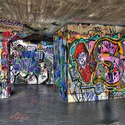 Graffiti 10'x10' CP Backdrop Computer-painted Scenic Background DGX-006