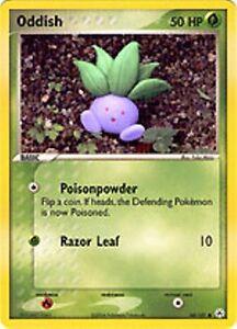 Oddish Pokemon Ex Hidden Legends Common #68//101
