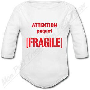 cadeau naissance chasse humour Body Bébé Attention Fille de Chasseur
