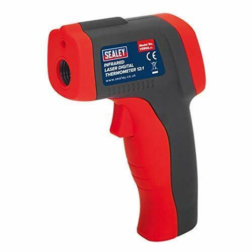 Infrared Laser Digital Thermometer 12:1-50°C to SEALEY VS904 550°C Range