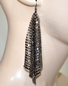 Boucles-d-039-oreilles-femme-gris-pendentifs-elegant-brincos-earrings-cercei-G5