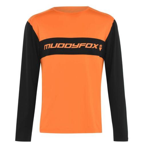 Muddyfox Homme à Manches Longues Performance technique Shirt Zip maille chaude