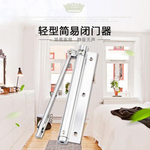 Meticulous Door Closers Adjustable 40KGS Household Single Spring Door Closer