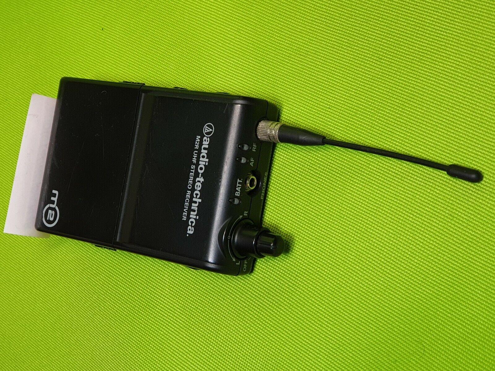 Audio-Technica M2R UHF Stereo Reciever 790822MHz  Wireless In-Ear Monitor