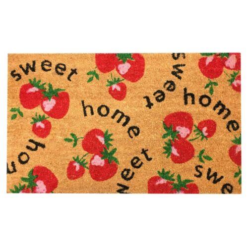 Natural Coir Non Slip Welcome Floor Entrance Door Mats Indoor Outdoor Doormats