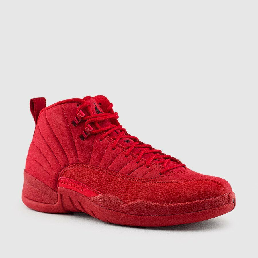 Nike Nike Nike Air Jordan Retro XII 12 GYM RED 2018 Black Bulls Tgold 130690-601 Sz 4y-14 ea5bdf