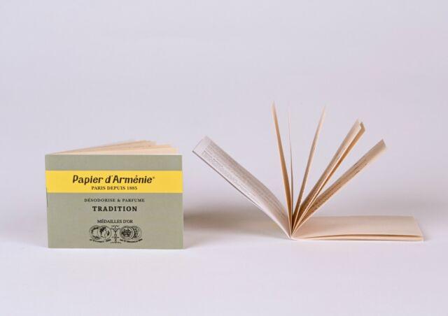 Papier D Armenie Natural Room Deodorizer Incense Paper Benzoin 2 Booklets For Sale Online Ebay