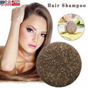 Organic Grey Reverse Shampoo Bar - Essence Hair Darkening Shampoo Soap Cleaner