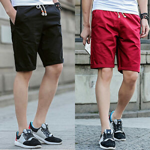 herren freizeit baumwolle hose baggy shorts taschen cargo. Black Bedroom Furniture Sets. Home Design Ideas