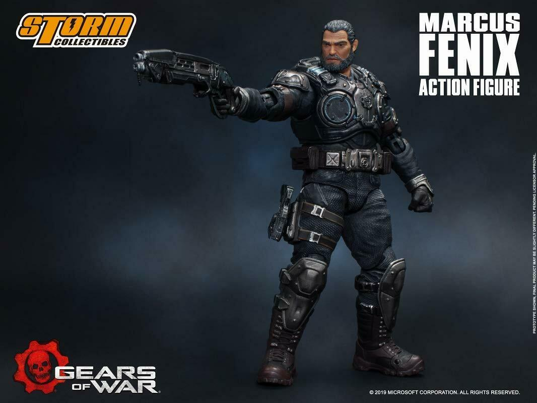 Gears Gears Gears of War Marcus Phoenix azione cifra Storm Collectables b9d133