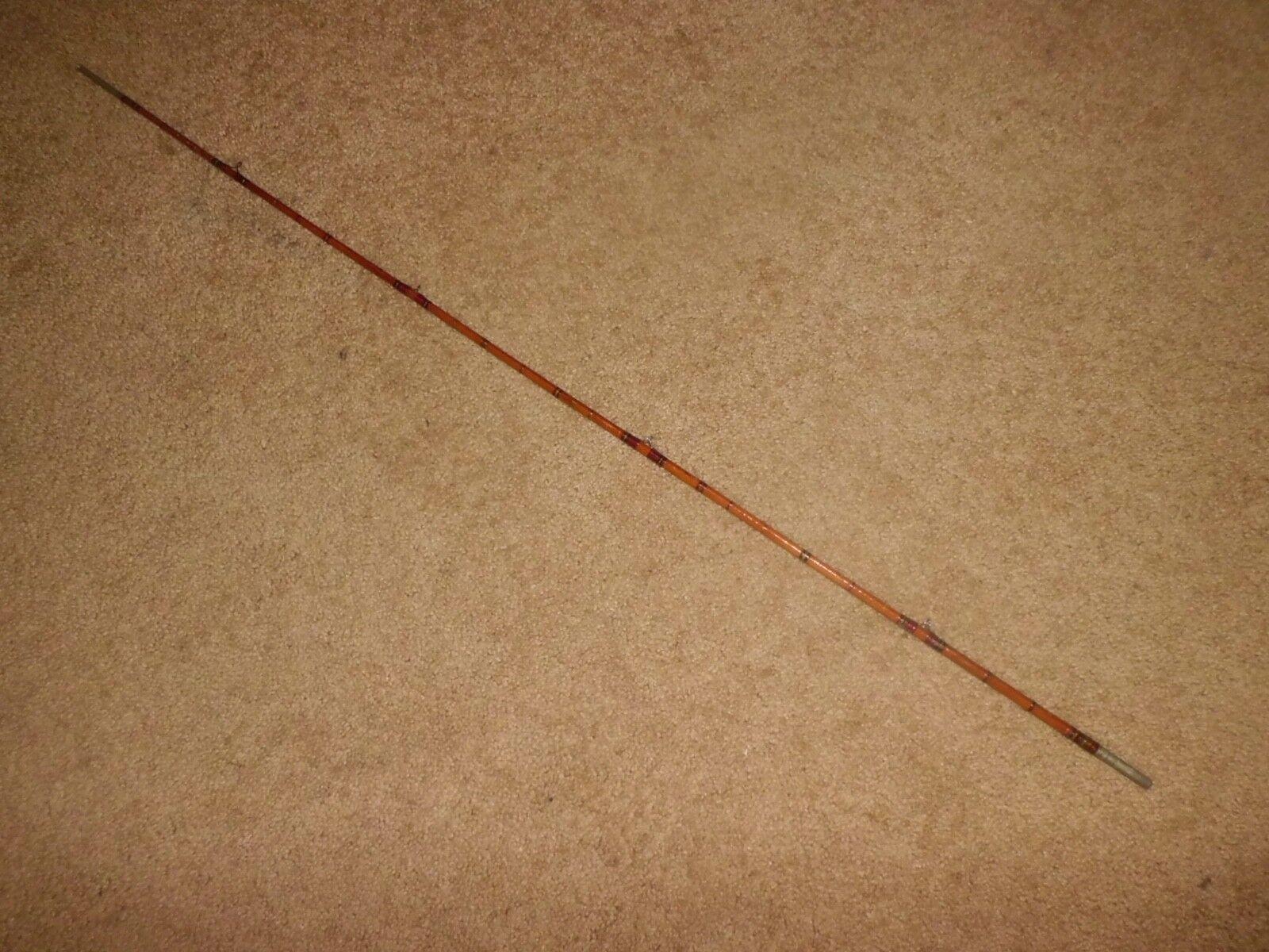 Vintage 36-5 8  media sección de Thomas H. Chubb dividir bambú Fly Rod-EE. UU.