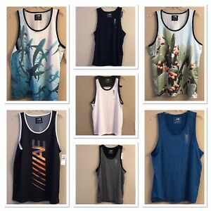 2322b9a7b933b5 NWT AMERICAN EAGLE Men s Tank Tops Sz M-L Assorted Colors Prints ...