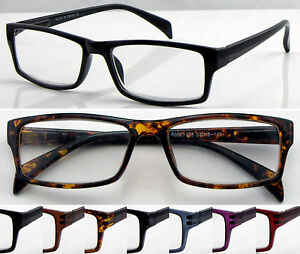 L155-Superb-Quality-Reading-Glasses-Spring-Hinges-Classic-Style-amp-Fashion-Design