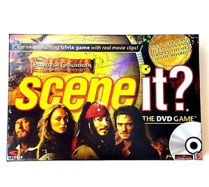Disney-Pirates-of-the-Caribbean-Scene-it-Mattel-The-DVD-game-Sealed