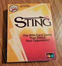Vintage 1984 Sting Card Game Rummy Gone Wild Makers of UNO 100 Complete