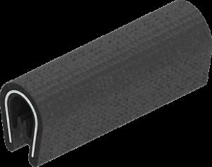 1x-m-Kantenschutz-Kantenschutzprofil-Dichtprofil-KB-1-3mm-PVC-schwarz-1C10-10