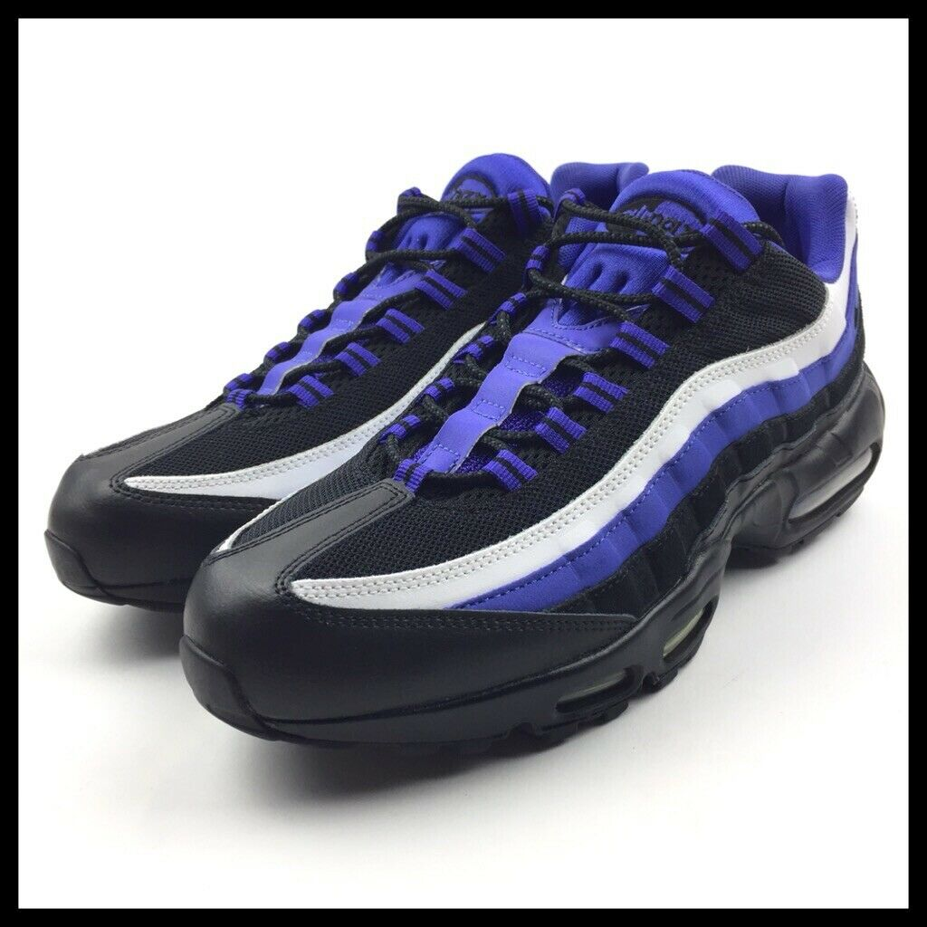 Nike Air Max 95 Essential Mens Running shoes Size 11.5 purple Black 749766-501