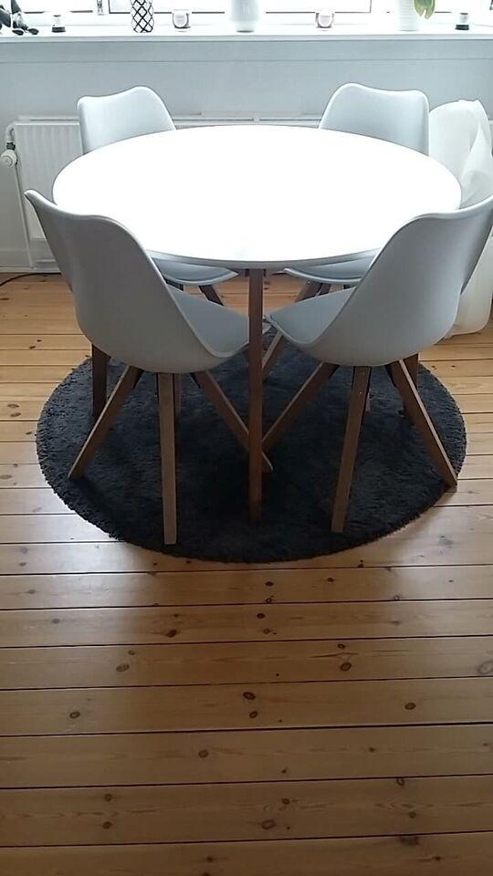 Spisebord mstole, Træ, Jegind – dba.dk – Køb og Salg af Nyt