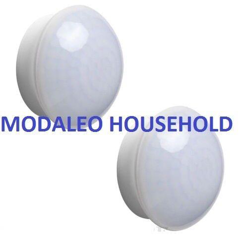 100% Vero 2 X Ikea Molgan Sensore Di Movimento Luce Led Batteria/notte Bianco Caldo 2700k Pup10 Saldi Estivi Speciali