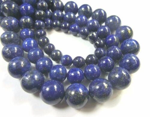Lapis lazuli 8mm 1 Mustang perlas balas cerca de Azul