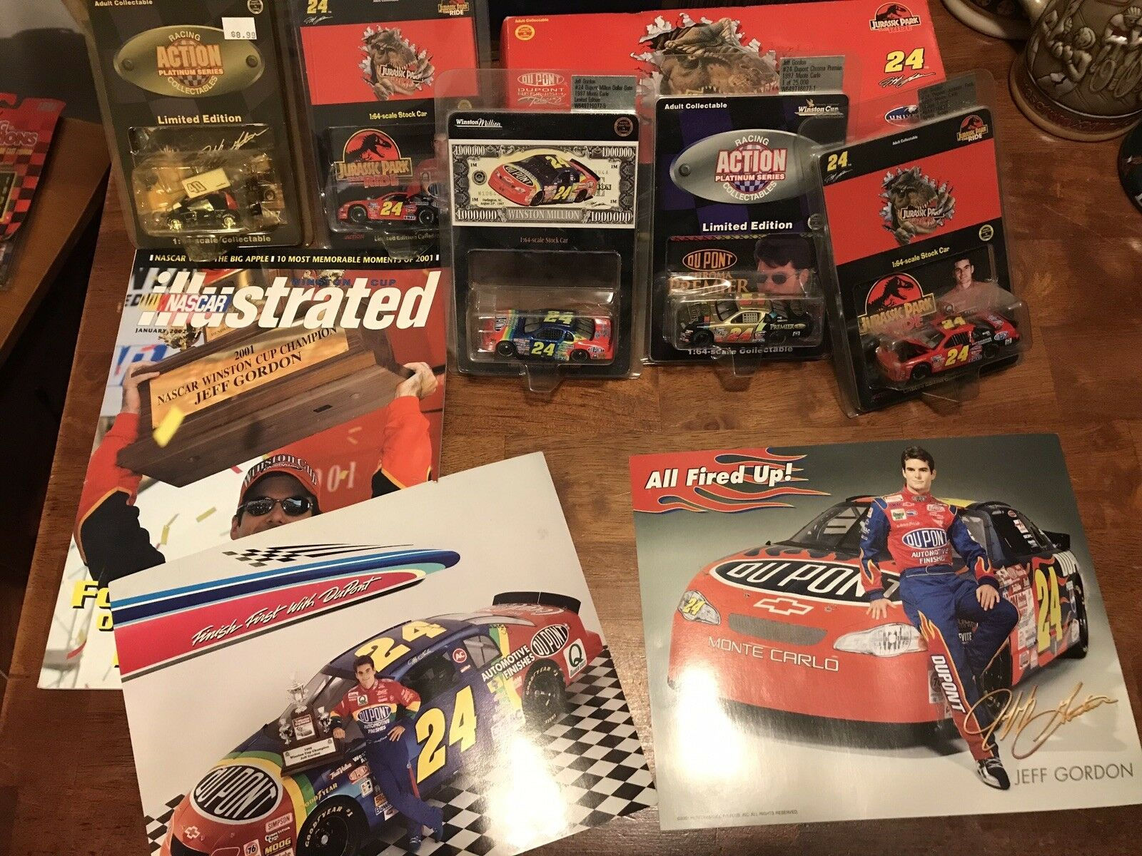 Jeff Gordon Lot Collection Collection Collection Limited Editions 5fb04f