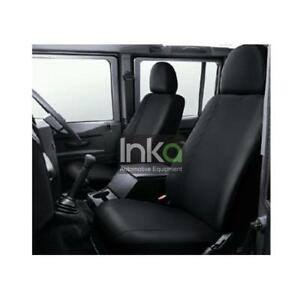 Land-Rover-Defender-INKA-Front-Set-Tailored-Waterproof-Seat-Covers-Black-MY83-16