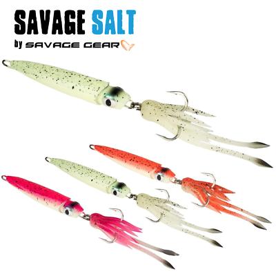 SAVAGE GEAR SALT SERIE SOFT BAIT LURE 3D SWIM SQUID 95mm//10g//2pcs