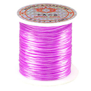 66FT-034-CRYSTAL-034-LAVENDER-STRETCH-ELASTIC-BEADING-CORD